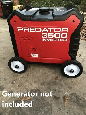 Predator 3500 Watt Generator Wheel Kit Also Fits Powerhorse 3500 And Clones