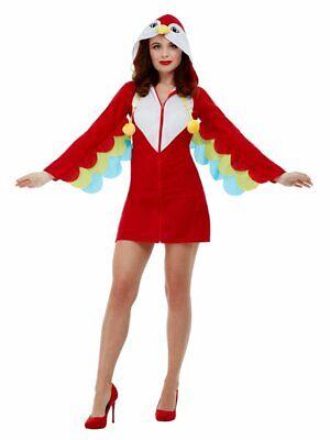 Tropical Parrot Bird Animal Adult Costume