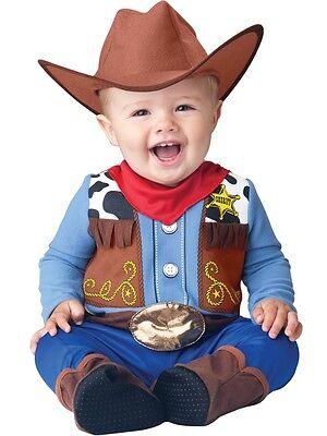 Incharacter Wee Wrangler Cowboy Infant Costume Halloween Cute Baby - Cute Baby Halloween Costume