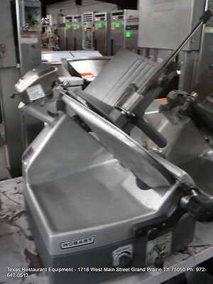 Hobart Heavy Duty 2912 Automatic Slicer 12 Blade With Sharpener