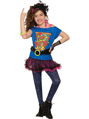 Child Girls Totally 80's To The Maxx Costume](80's Kids Costumes)