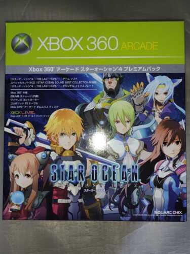 NEW+Xbox+360+Arcade+Star+Ocean+4+Game+Console+Japan+Un-Opened+Rare+Japan+DHL+F%2FS