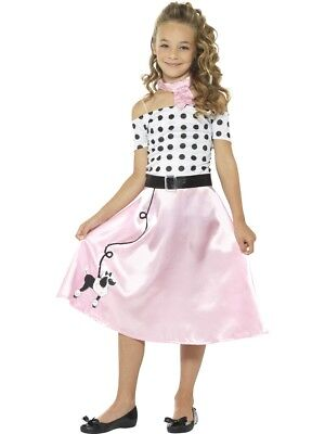 50's Poodle Skirt Girls Child Costume](Poodle Skirt Kids)