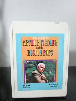 Arthur Fiedler & Boston Pops- The Best of- used 8 Track tape~
