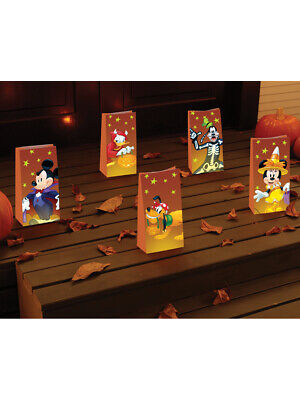 Disney Mickey Mouse And Friends Halloween Luminaries Bag Decorations - Halloween Luminaries Bags