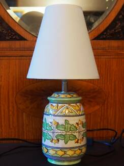 Charlotte Rhead table lamp Wollstonecraft North Sydney Area Preview