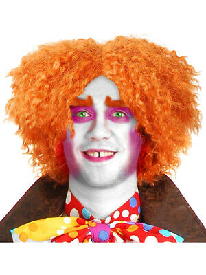 Alice In Wonderland Movie Mad Hatter Costume Orange Wig