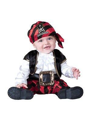 Incharacter Kappe 'n Stinker Halloween Pirat Süß Baby Kleinkind Kostüm 16016 ()