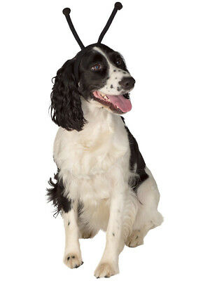 Black Alien Antennas Headband Pet Dog Costume Accessory - Alien Antenna Headband
