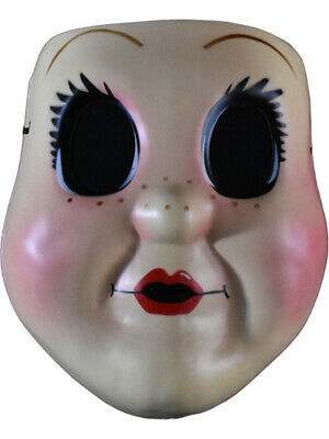 The Strangers Prey At Night Dollface Mask Costume Accessory (The Strangers Masks)