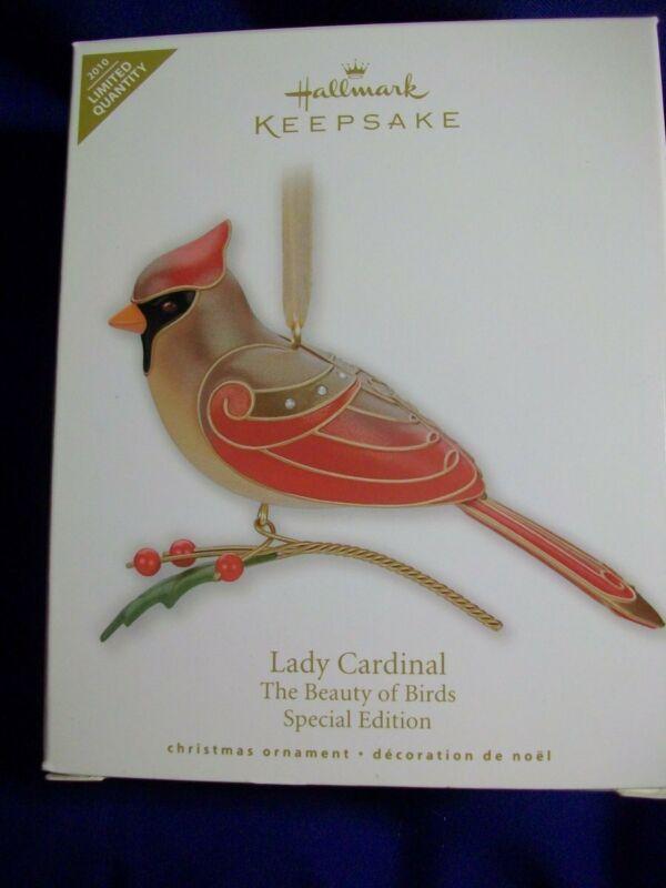 Hallmark 2010 Lady Cardinal~Beauty of the Birds~Special Edition