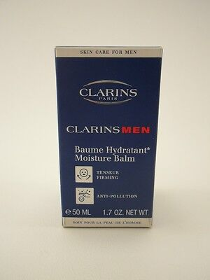 Men Moisture Balm (CLARINS MEN Baume 50 ml Hydratant Moisture Balm Tensuer Firming OVP °)
