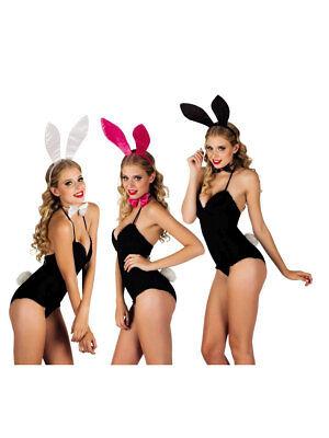 Set Tiara Bunny Glänzend Party Kostüm - Bunny Kostüm Accessoires
