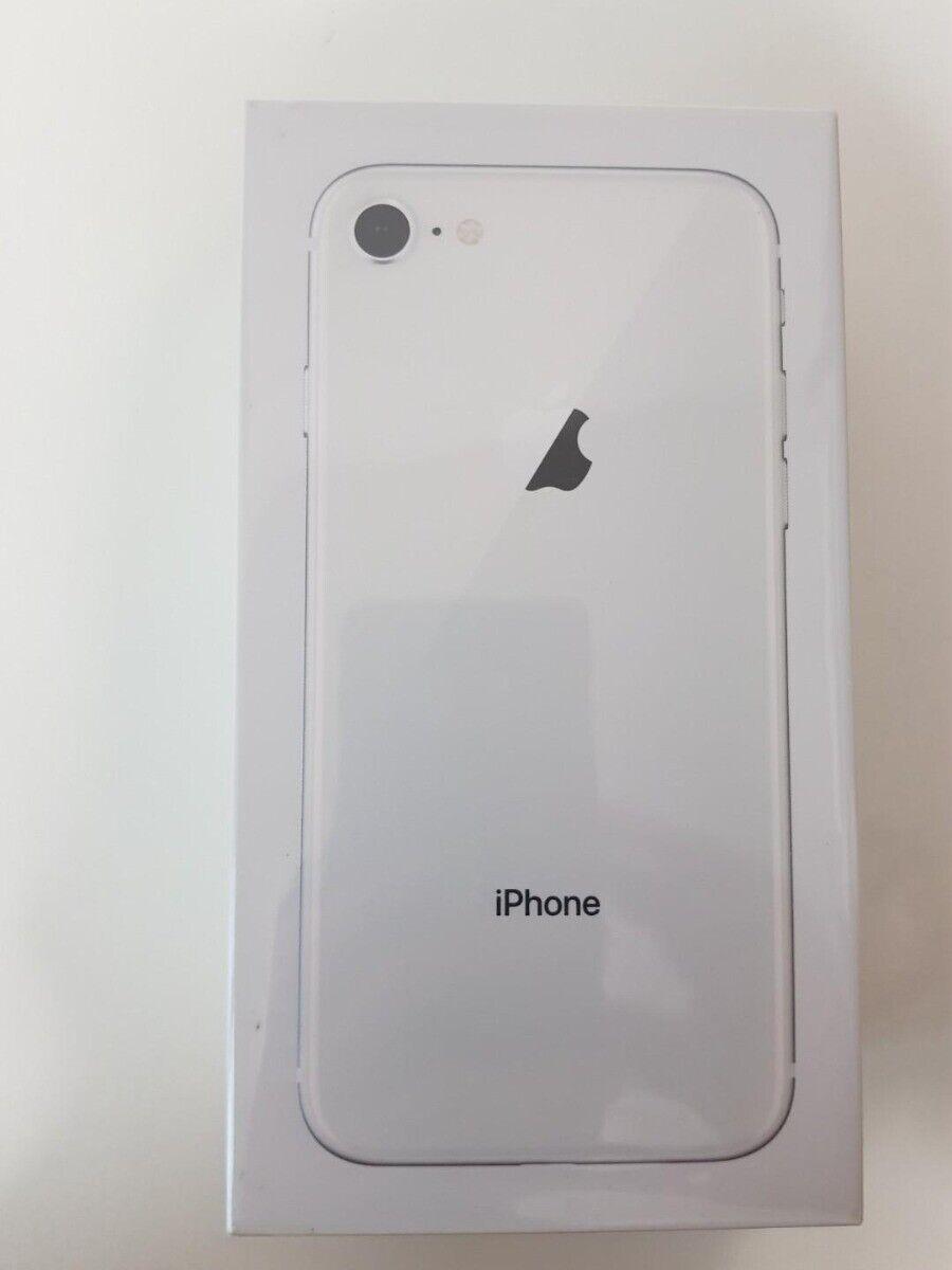 SEALED Apple iPhone 8 - 256GB Silver (Unlocked) TMobile ATT Verizon Sprint A1863