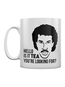 Lionel Richie Is it Tea You're Looking For? White Mug - Officially Licensed