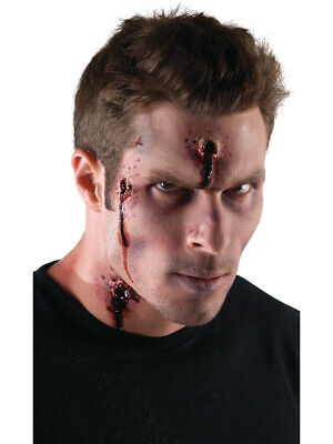 EZ Body Hit Bullet Wound Latex Costume Scar Make Up - Halloween Makeup Bullet Hole