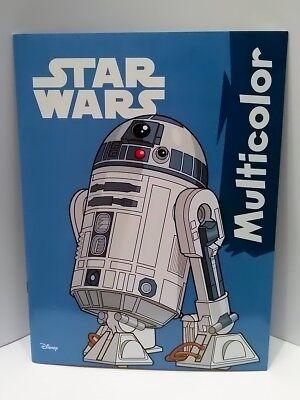 Disney Malbuch Malheft Ausmalbuch Star Wars Nr.02 ()