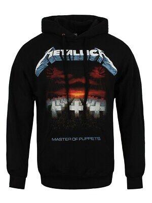 Metallica Herren Kapuzenpullover Master Of Puppets Tracks schwarz