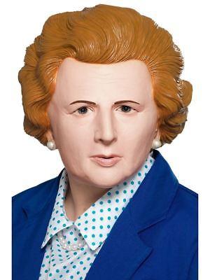 Latex Masken Uk (Margaret Thatcher Iron Lady Prime UK Minister Latex, Fancy Dress #DE)
