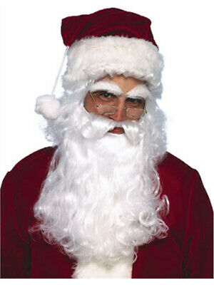 New Santa Claus Costume Wig with Beard and Moustache](Costume With Beards)