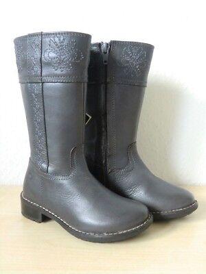 Geox Herbststiefel - J Flake N - J13C4N / Kinderstiefel / Stiefel Größe 26 Grau