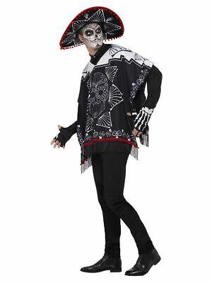 SMIFFY 41587 Tag der Toten Banditenkostüm Day of Dead Karneval Herren Kostüm - Tag Der Toten Herren Kostüm