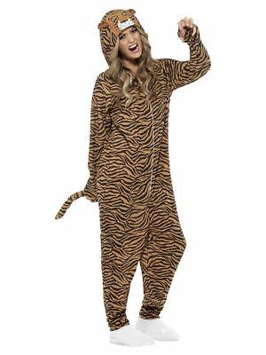 SMIFFY 55002 Tiger Raubkatze Wild Katze Tierkostüm Karneval Damen Kostüm - Braune Katze Kostüm
