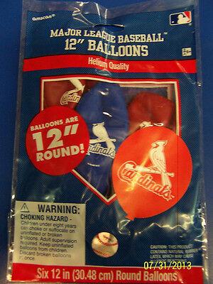 St. Louis Cardinals MLB Baseball Sports Banquet Party Decoration Latex Balloons (St Louis Cardinals Party Supplies)