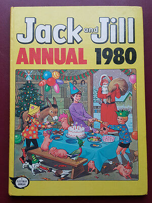 Jack and Jill Annual 1980 - Hardback Book