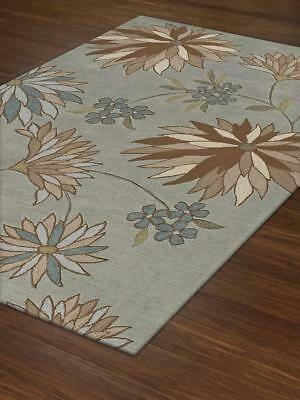 - Dalyn Rugs Tropical Fauna Contemporary Area Rug in Spa