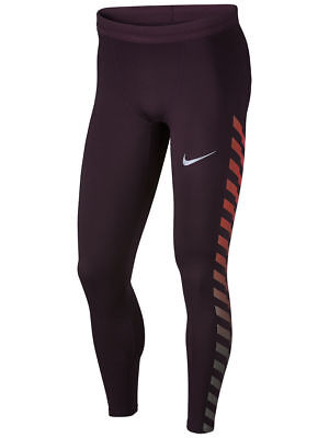 859268-652 New With Tag Men Nike Power flash Running tight pant  - Cheap Red Tights