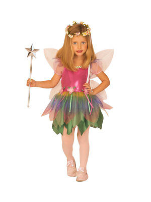Regenbogen Kostüm (Kostüm für Kinder Regenbogenfee)