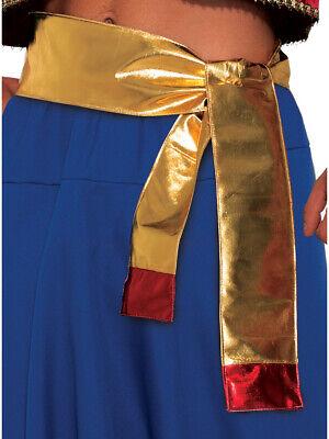Desert Arabian Persian Prince Gold Sash Costume - Persian Halloween Costumes