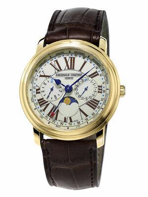 Frederique Constant Business Timer FC-270EM4P5 Men's 40mm Ivory Dial Watch