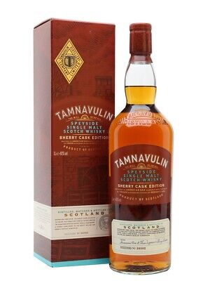 Tamnavulin Sherry Cask Edition Single Malt Whisky - 40% Vol. / 0,7Liter