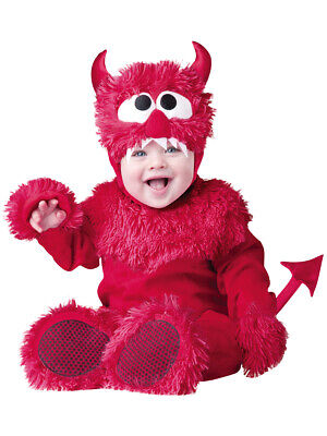 COSTUME CARNEVALE INCHARACTER LIL DEVIL DIAVOLETTO TOP QUALITY DELUXE 0/6 MESI
