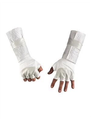 Childs GI Joe Storm Shadow White Ninja Costume Gloves](Gi Joe Storm Shadow Halloween Costume)