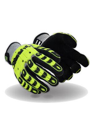 Magid T-REX Flex Series TRX440 Lightweight Knit Impact Glove – Cut Level A4 - T Rex Gloves
