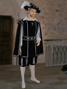 Tabard-Tunic-in-Medieval-or-Renaissance-Musketeer-Style-Handmade-from-Velvet