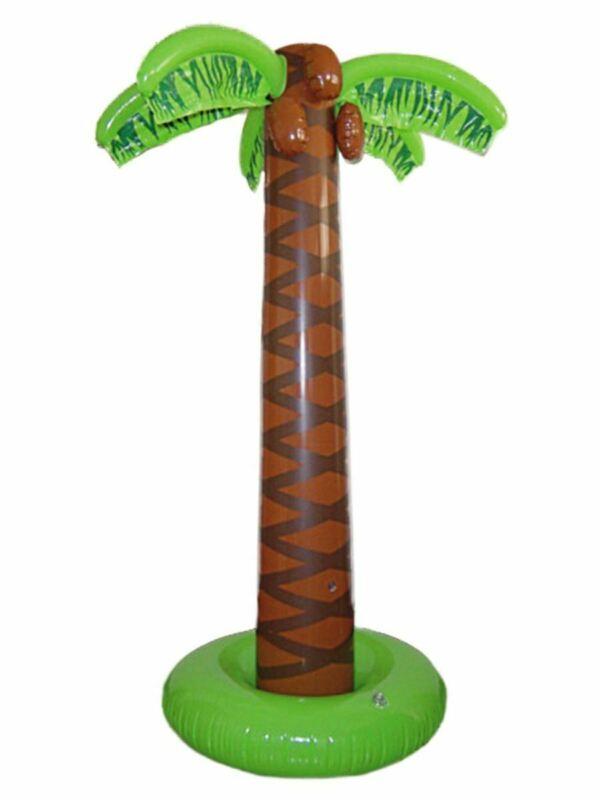 6ft+Inflatable+Palm+Tree+Hawaiian+Beach+Party+Fancy+Dress+Prop+Decoration