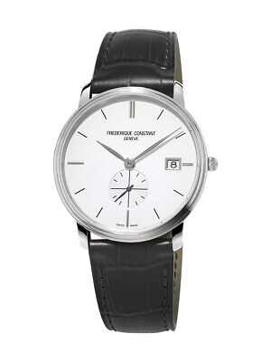 Frederique Constant Slimline Men's Quartz Caliber 10 Jewel 37mm Watch FC-245S4S6