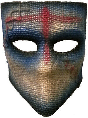 Adult's Scarecrow Medico Blue Party Festival Tie Mask Costume Accessory for sale  Tonawanda