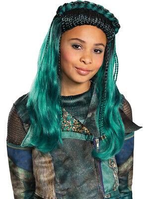 Child's Girls Disney Descendants 3 Uma Wig Costume Accessory