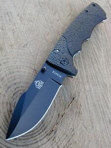 Puma TEC Einhandmesser - Taschenmesser - Stahl 420 -  Clip - Aluminium -  315412