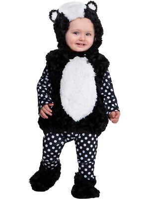 Infant Animal Costumes (Animal Friends Little Stinker Skunk Costume Infant 12-18)
