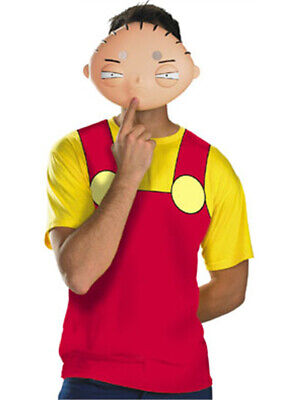 Family Guy Baby Stewie T-Shirt & Mask Costume (Family Guy Mask)