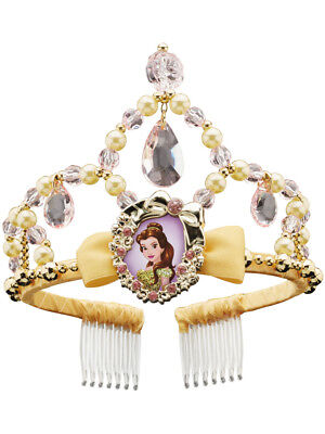 Beauty and the Beast Belle Classic Childrens Tiara with Char
