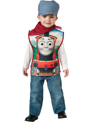 Childs Boy's Thomas The Tank Engine Engineer Conductor James Costume Small 4-6](Thomas The Engine Costume)