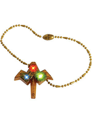 Child's Wonder Woman Justice League Light Up Necklace Costume Accessory - Justice League Girl Costumes
