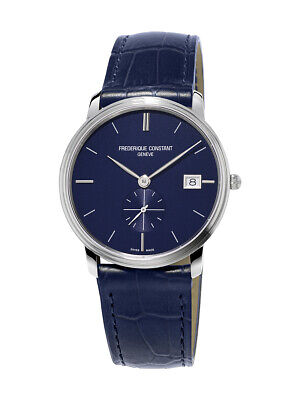 Frederique Constant Slimline Men's Quartz Caliber 10 Jewel 37mm Watch FC-245N4S6
